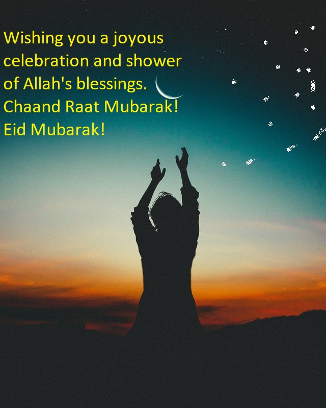 Happy Eid Chand Raat Mubarak