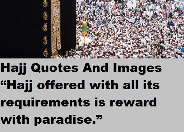 Hajj Mubarak Greeting Wishes Quotes