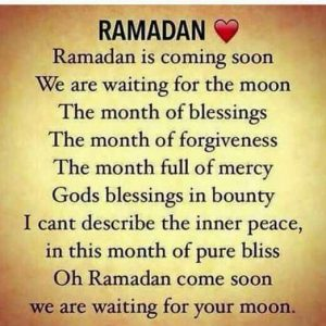 Ramadan is coming quotes